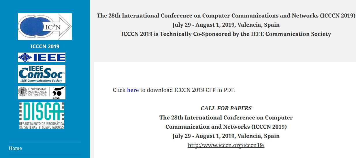 mF2C paper accepted in International Conference on Computer